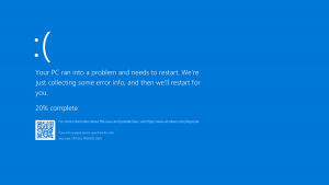 Facing Blue Screen Death common IT issue